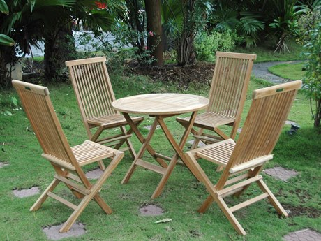 Anderson Teak Windsor Classic 3-Piece Bistro Set