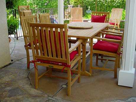 Anderson Teak Wilshire Dining Set