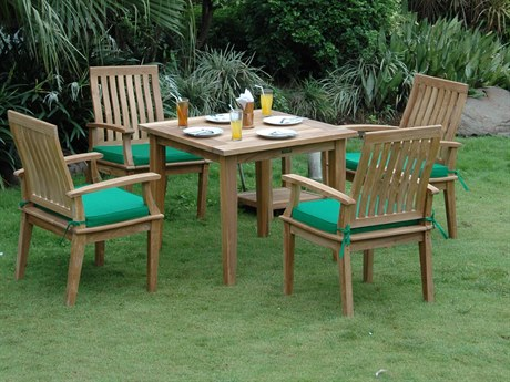 Anderson Teak Bahama Brianna 5-Piece Dining Set PatioLiving