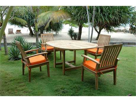 Anderson Teak Bahama Brianna 7-Piece Extension Dining Set PatioLiving