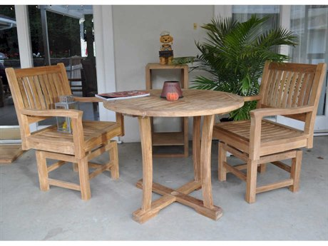 Anderson Teak Descanso Rialto 3-Piece Bistro Set PatioLiving