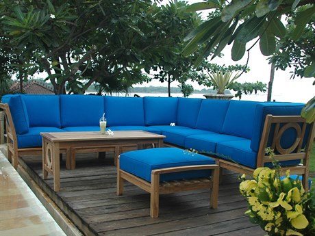 Anderson Teak Napseta Sectional Lounge Set PatioLiving