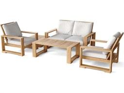 Capistrano 5-Piece Deep Seating Loveseat Lounge Set