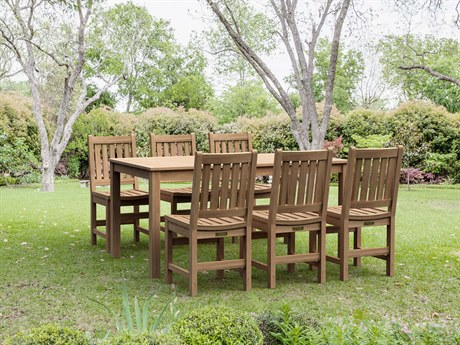 Anderson Teak 7-Piece Sonoma Rectangular Dining Set PatioLiving