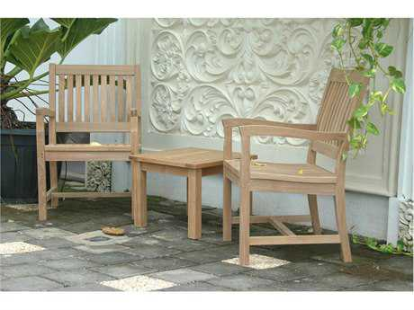 Anderson Teak Rialto Chairs & Side Table Set