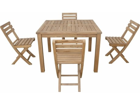 Anderson Teak Montage Alabama 5- Piece Dining Set