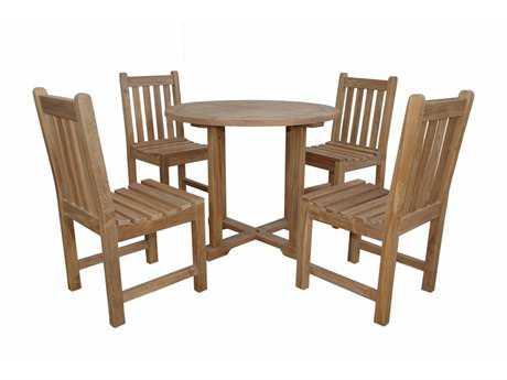 Anderson Teak Montage Braxton 5- Piece Dining Set C PatioLiving