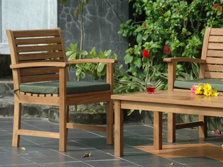 Anderson Teak Victoria Montage Coffee Table Lounge Set