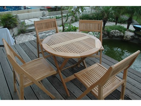 Anderson Teak Windsor BistroTable Set AKSET24