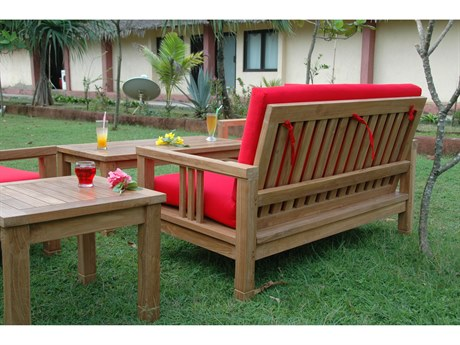 Anderson Teak South Bay Deep Seating Lounge Set AKSET251