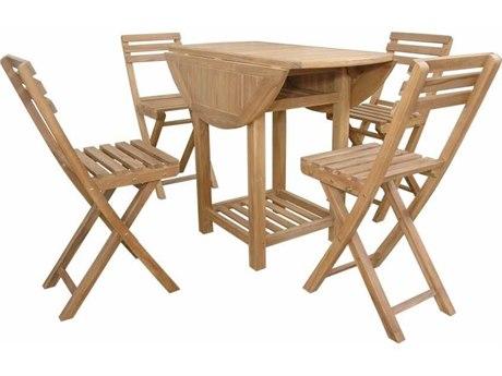 Anderson Teak Seacrest 5-Piece Counter Table Set