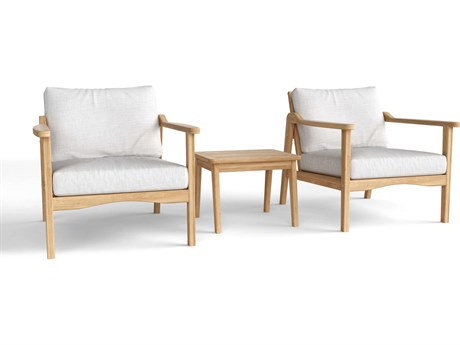 Anderson Teak Amalfi Relax3-Piece Deep Seating Collection PatioLiving