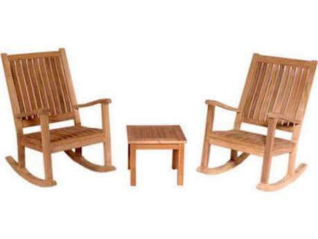 Anderson Teak Del-Amo Rocking Chair Set AKSET4