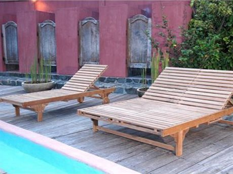 Anderson Teak Bel-Air Double Sun Lounger Set