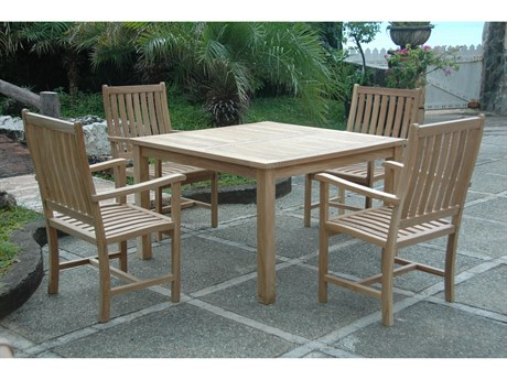 Anderson Teak Windsor Wilshire 5-Piece Dining Set