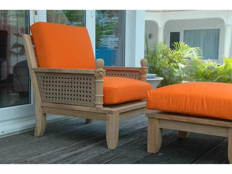 Anderson Teak Luxe 3-Piece Modular Set (includes two arm chairs) PatioLiving