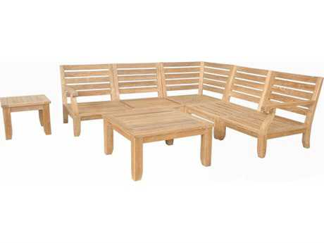 Anderson Teak Riviera Luxe Deep Seating Lounge Set