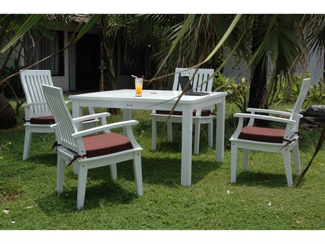 Anderson Teak Magnolia 5-Piece Dining Set PatioLiving