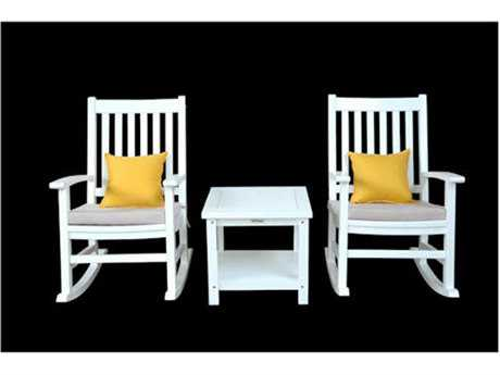 Anderson Teak Barcelona Rocking Lounge Set