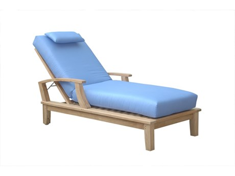 Anderson Teak Brianna Sun Lounger With Arm PatioLiving