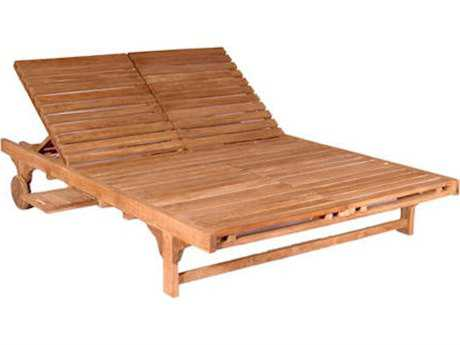 Anderson Teak Double Sun Lounger Double Back