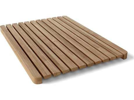 Anderson Teak Rectangular Small Shower Mat PatioLiving