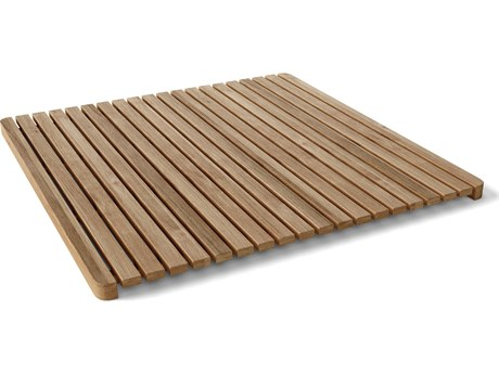 Anderson Teak Large Square Shower Mat PatioLiving