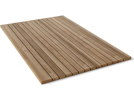 Anderson Teak Rectangular Shower Mat Roll It & Go! PatioLiving