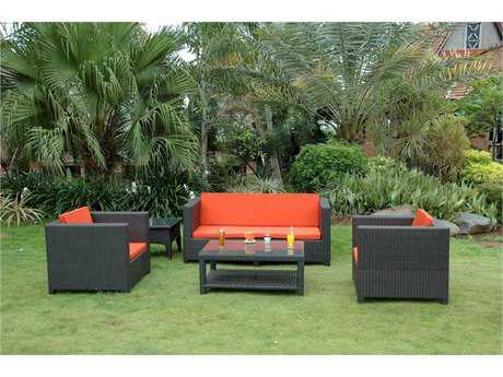 Anderson Teak Wicker Coto De Casa Deep Seating Set