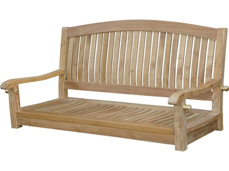 Anderson Teak Del-Amo 48'' Round Swing Bench PatioLiving