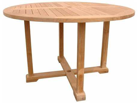 Anderson Teak Tosca 47 Round Table with Frame