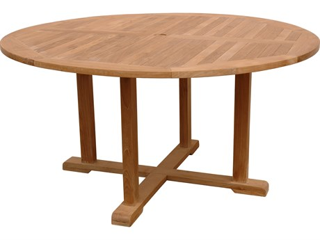 Anderson Teak Tosca 5-Foot Round Table PatioLiving