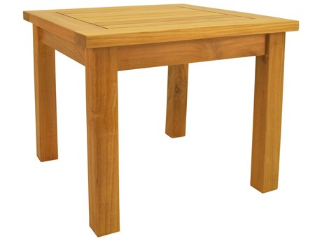 Anderson Teak Bahama 20 Square Mini Table AKTB020MS