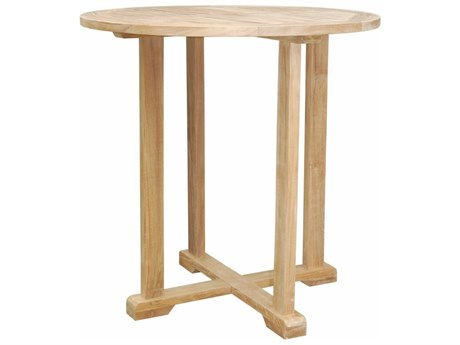 Anderson Teak Bahama 39'' Round Bar Table PatioLiving