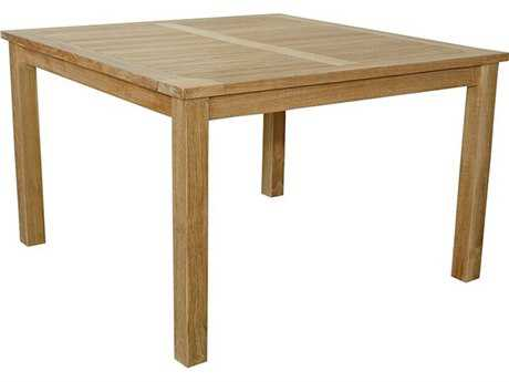 Anderson Teak Windsor 47 Square Table Small Slats