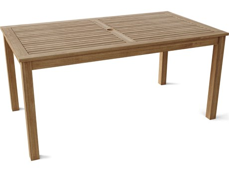 Anderson Teak Bahama 65''W x 35'' Rectangular Dining Table AKTB065DT