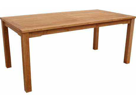 Anderson Teak Bahama 70 x 35 Rectangular Dining Table AKTB070DTR