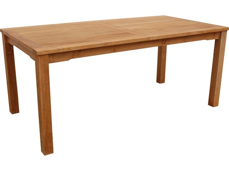 Anderson Teak Bahama Rectangular Dining Table PatioLiving