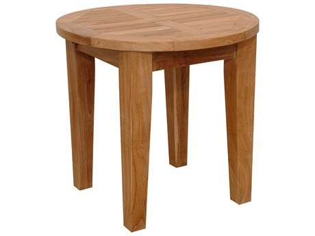 Anderson Teak Brianna 20'' Round Side Table PatioLiving