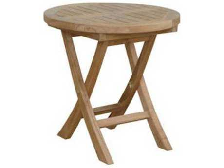 Anderson Teak Montage 20 Round Side Table