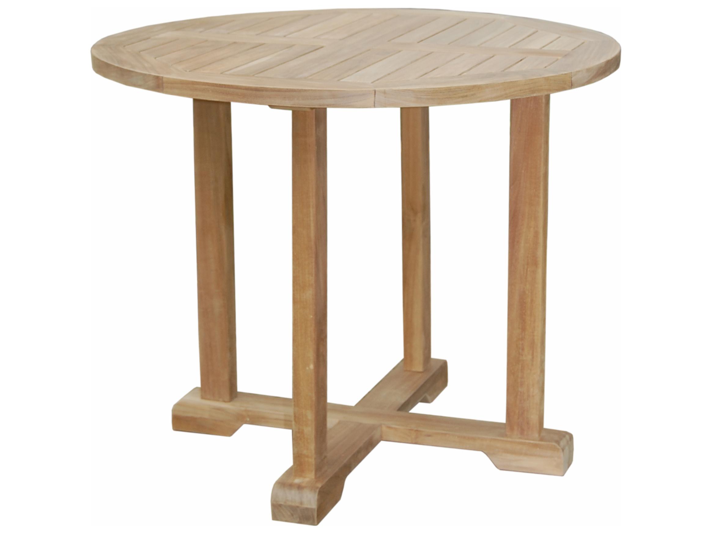 Anderson Teak Montage 35 Bistro Round Table Tb 3535
