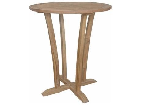 Anderson Teak Descanso 35'' Round Bar Table PatioLiving