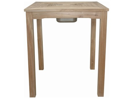 Anderson Teak Chatsworth Ice Chiller Bar Table PatioLiving