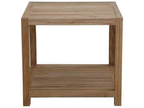 Anderson Teak Glenmore 22 Side Table with 1-Tier
