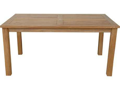 Anderson Teak Montage 63 x 36 Rectangular Table AKTB6336DT