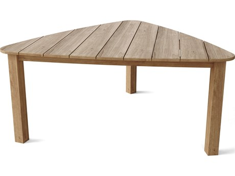 Anderson Teak Padua 67''W x 67D Triangle Dining Table