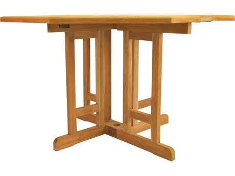 Anderson Teak Butterfly 47 Octagonal Folding Table