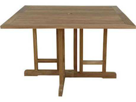 Anderson Teak Montage 47 Square Folding Butterfly Table