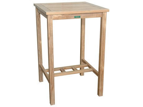 Anderson Teak Anderson Teak Avalon 27 Square Bar Table AKTBS027BT