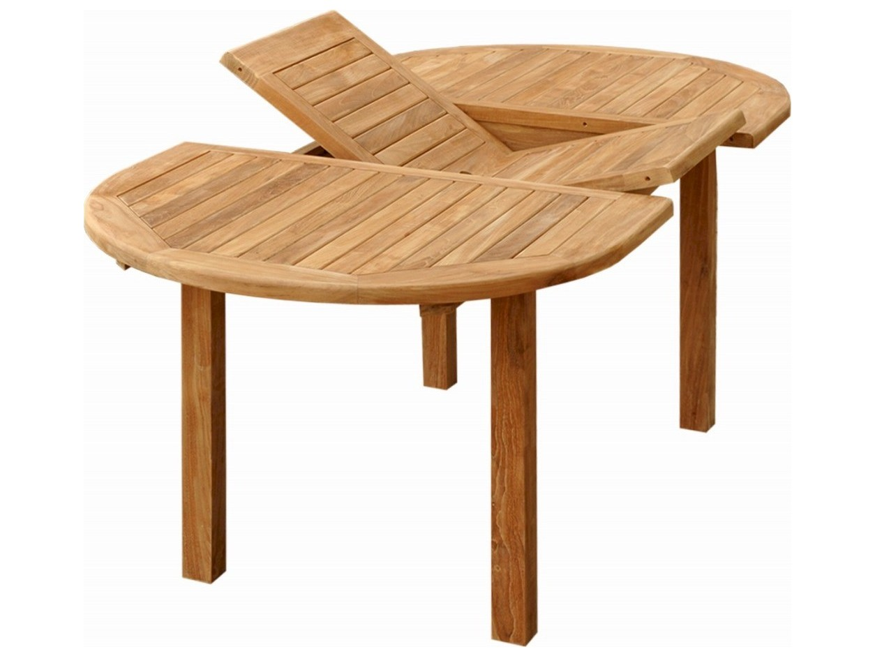 Anderson Teak Bahama Natural 59 78 W X 39 D Oval